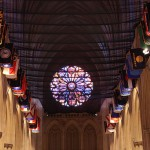 Nave of the National Cathedral in DC.