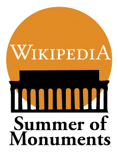 Wikipedia Summer of Monuments logo
